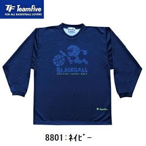 TeamFive チームファイブ 昇華ロンシャツ「ブラックボール!」2020-21モデル AL-88(01・06)