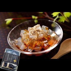 【文志郎】 磨き水 の ところてん 角切 り2本入4個セット 和菓子 スイーツ お中元 ギフト