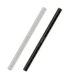 【メ可】ステッドラー 三角スケール 高精度オールアルミ製 スリム 15cm 561 7-