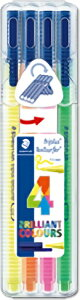 【メ可】ステッドラー トリプラス テキストサーファー 蛍光ペン 4色セット 362-SB4