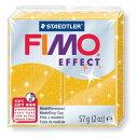 【メ可】ステッドラー CLAY FIMO オーブンクレイ フィモ エフェクト <グリッターゴールド> 8020-112