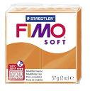 【メ可】ステッドラー CLAY FIMO オーブンクレイ フィモ ソフト <タンジェリン> 8020-42