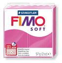 【メ可】ステッドラー CLAY FIMO オーブンクレイ フィモ ソフト <ラズベリー> 8020-22