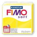 【メ可】ステッドラー CLAY FIMO オーブンクレイ フィモ ソフト <レモン> 8020-10
