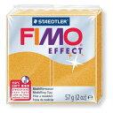 【メ可】ステッドラー CLAY FIMO オーブンクレイ フィモ エフェクト <メタリックゴールド> 8020-11