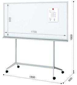 コクヨ デザインホワイトボード 片面 板面1730×830 BB-K836WN