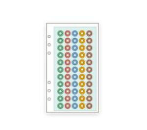 【メ可】レイメイ藤井 ダ・ヴィンチ リフィル 聖書サイズ はってはがせるスケジュールシール DR255