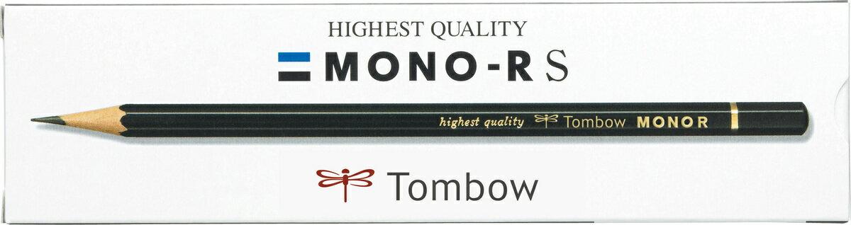 【メ可】トンボ鉛筆 鉛筆 モノRS 2H,H,HB,B,2B,3B,4B,6B 紙箱 MONO-RS
