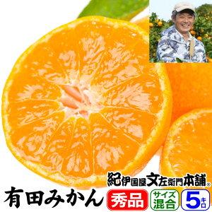有田みかん5kg(和歌山みかん)有田みかん豊作会【味暦...