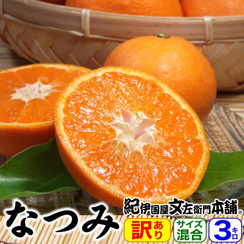 紀州有田みかんの里から・なつみ(南津海)みかん(わけあり柑橘:買得品3kg)ご家庭用 ・この果実は種があります