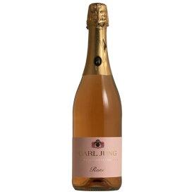カールユング・スパークリング ロゼ ノンアルコール ワイン ロゼ 泡 辛口 脱アルコールワイン 低アルコール 0.2% ドイツ 750ML ギフト お中元