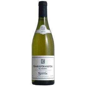 シャブリ・グラン・クリュ・ブランショ ドメーヌ・セルヴァン[2015]ブルゴーニュ 白ワイン 特級畑 フランス ギフト プレゼント 750ML父の日