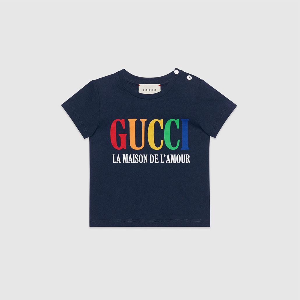 GUCCI kids [Baby] GUCI print T-shirt グッチ キッズ GUCCI