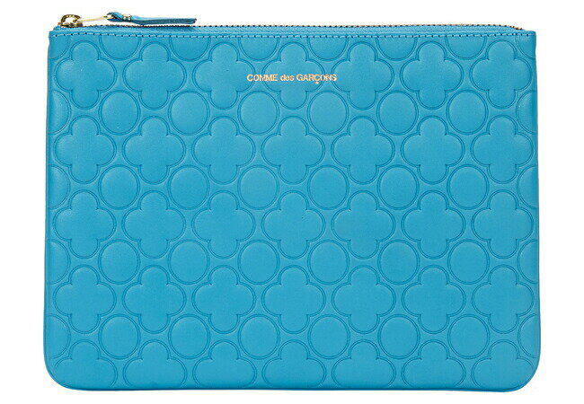 Comme des Garcons EMBOSS ZIP POUCH コムデギャルソン ポーチ E-SA510EB
