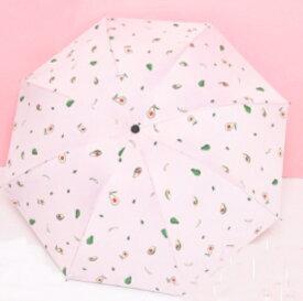 折りたたみ傘 傘 レディース おしゃれ コンパクト 晴れ雨兼用 アボカド