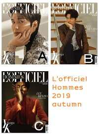 L'officiel Hommes yk edition 2019 autumn イ・ミンホ 3 種類選択和訳付き 送料無料 1次予約