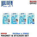 SHINee x JINRO [03 MAGNET & STICKER SET - SPECIAL COLLABORATION MD] shinee is back 公式 1次予約 送料無料