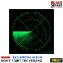 【2種セットVer1+Ver2】EXO[DONT FIGHT THE FEELING(photobook)] CD アルバム 韓国音楽チャート反映 1次 送料無料