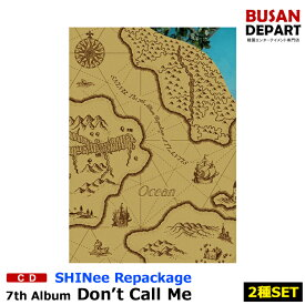 【2種セット】【初回ポスター丸めて発送】 SHINEE リパッケージ 正規7集 [Atlantis] DON'T CALL ME CD アルバム 韓国音楽チャート反映 1次予約 送料無料