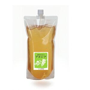 純粋はちみつアカシア1500g 袋 はちみつ アカシア 容器 蜂蜜 ハチミツ 花の露 キッチン ホットケーキ 料理 砂糖 代用 天然 100