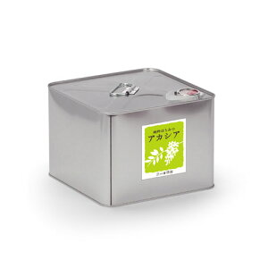 【送料無料】 アカシアはちみつ10kg缶 はちみつ アカシア 容器 蜂蜜 ハチミツ 花の露 キッチン ホットケーキ 料理 砂糖 代用 天然 100