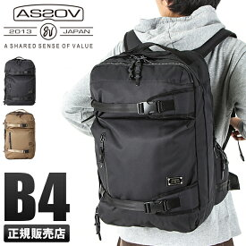 【ポイント2倍】アッソブ AS2OV リュック メンズ 061408 / DOBBY ドビー リュックサック バックパック バッグ 3WAY 大容量 ブランド ブラック