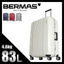 バーマス プレステージ2 スーツケース 83L 軽量 フレームタイプ 大型 L BERMAS PRESTIGE II 60266 キャリーケース キャリーバッグ