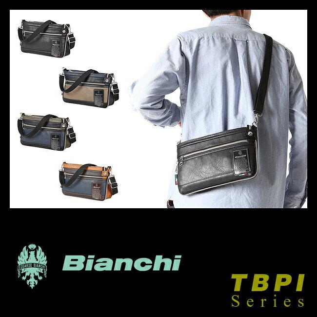 【まもなく終了!会員ランク+D4倍/P3倍/G2倍】ビアンキ ショルダーバッグ 日本正規品 サコッシュ ミニ 小さめ 小さい 防水 メンズ レディース Bianchi TBPI-10