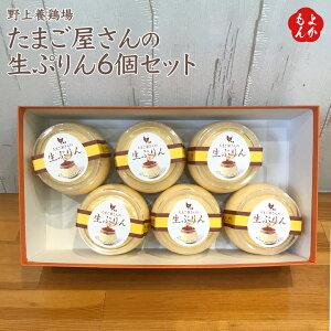 たまご屋さんの生ぷりん6個セット【送料無料】