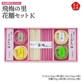 飛梅の里 花麺セット K【送料無料】