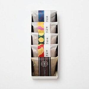 大阪 お土産 粟おこし「香味煎菓」(5袋入り)(胡麻・生姜・柚子・落花生)