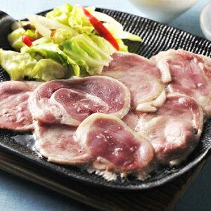 本鴨モモ肉 鉄板焼きセット【送料無料】【ギフト対応】【島根】