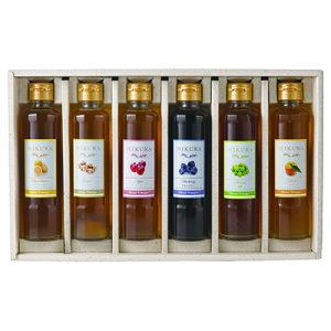 Sweet Vinegar MIKURA 選べる6本ギフトセット(ブルーベリー・青梅・ゆず・マイヤーレモン・ジンジャー生姜) 【送料無料】【産地直送】【三重県】【飲む酢】