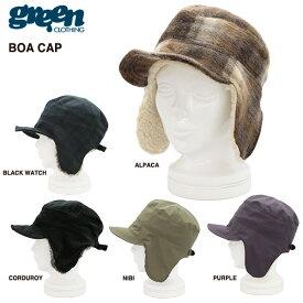 green clothing BOA CAP 2016-2017モデル / グリーンクロージング ボアキャップ