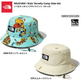 THE NORTH FACE Kids' Novelty Camp Side Hat NNJ01804 / ノベルティキャンプサイドハット(キッズ)