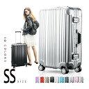【9%OFFクーポン!!】機内持ち込み スーツケース キャリーバッグ フレーム キャリーケース SS サイズ かわいい 一…
