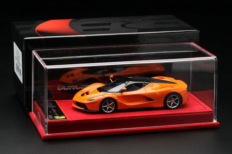 【平日即日発送可能】BBR 1/43 ラフェラーリ laferrari Special Edition Honda Orange/Gloss Black roof BBRC137ORA モデルカー ミニカー 送料無料