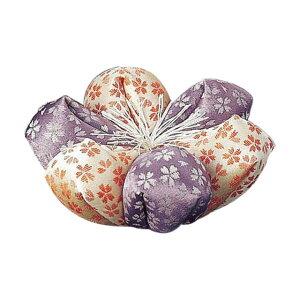仏具 おりん 座布団 リン布団 花フトン 日和 濃紫×ピンク お仏壇 仏壇 小物 おしゃれ かわいい シンプル