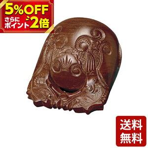 【P2倍 5%OFF対象】紫檀 杢魚 上彫 3.0寸〜7.0寸 お仏壇 仏壇 小物