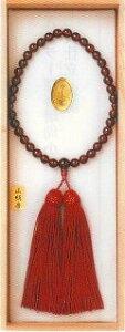 【宗派問いません】 ガーネット小玉 女性用 (仏具 珠数 数珠 念珠) 品質本位の最高級品