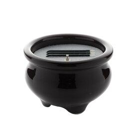 仏具・LED電子線香 サンやすらぎ 寝かせ線香タイプ(茶/2.5寸)