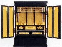【上置仏壇】静15巾20号『蒔絵なし』都市型上置仏壇