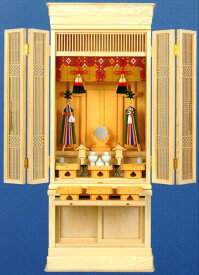 ドッシリとした 床置 型の 御霊舎 特製 祭壇宮 「京」 24号( 祖霊舎 )
