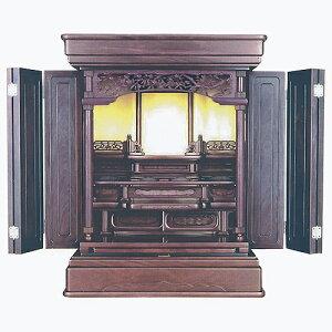 仏壇 上置型金仏壇 星光 28号 高850×巾665×奥行505×須弥壇上295mm
