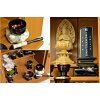 Modern altar small household Buddhist altars