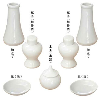 Set cheap God pottery 7 points with Shinto