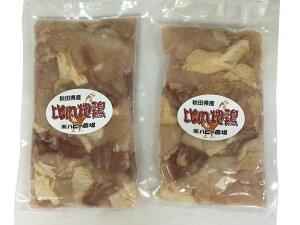 秋田 比内地鶏肉 2パック 送料無料 冷凍便