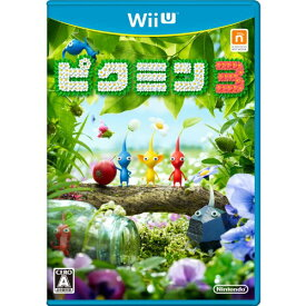 【すぐに使えるクーポン有!2点で50円、5点で300円引き】ピクミン3 - Wii U/【Nintendo Wii U】 【中古】