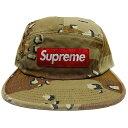 Supreme (シュプリーム) SIDE ZIP CAMP CAP