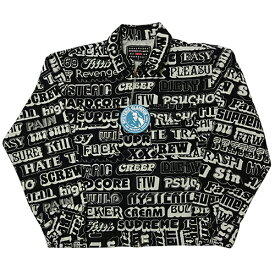 Supreme (シュプリーム) × HYSTERIC GLAMOUR (ヒステリックグラマー) TEXT WORK JKT